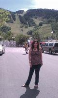 Frankie and Aspen Mountain